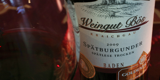 Weingut Bös, Spätburgunder